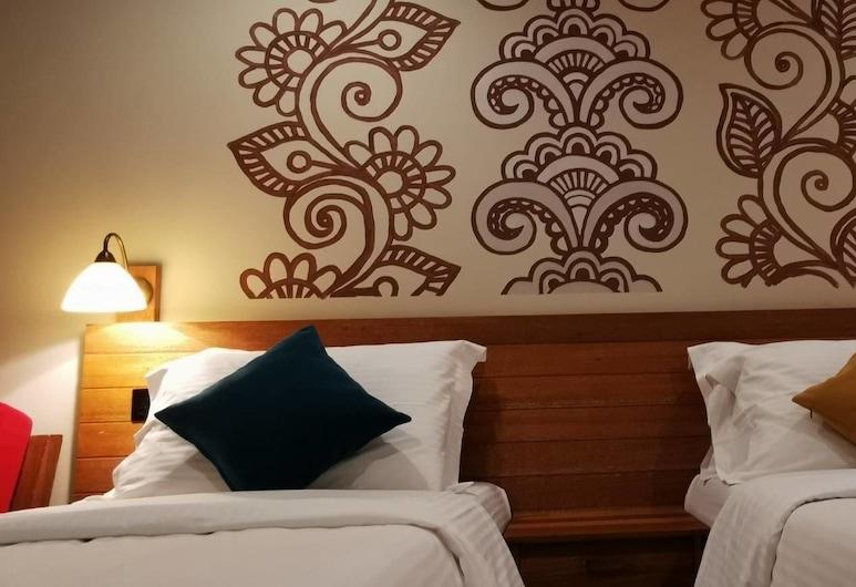 Meri Maldives, Hulhumalé, Deluxe Twin kamer, 1 slaapkamer, Uitzicht op de stad, Kamer
