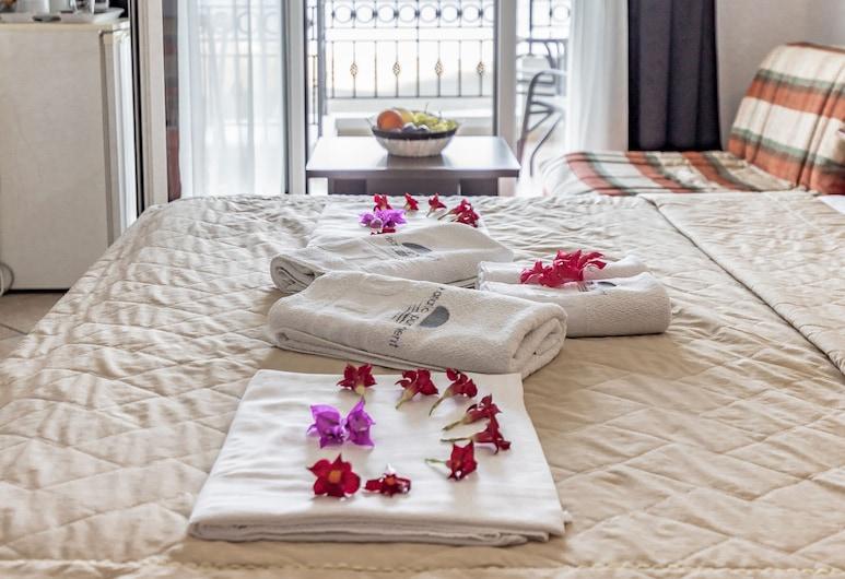 Adriatic Apartment, Ulcinj, Chambre Double, vue plage, Chambre