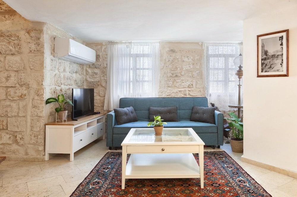 Apartmán, výhled na moře - Obývací pokoj