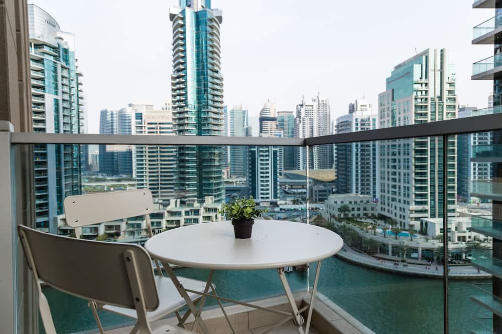 Apartemen Eksklusif, pemandangan kanal - Balkon