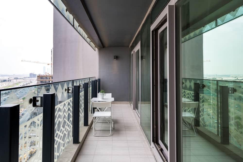Apartmán typu Elite, výhľad na zátoku - Balkón