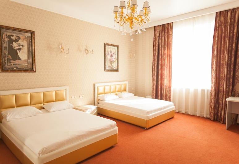 Hotel G.S., Novokuznetsk, Deluxe - kahden hengen huone, Vierashuone