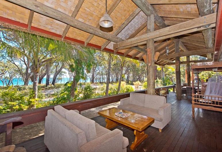 Bali Beach House, Bulwer, Māja, trīs guļamistabas, Balkons