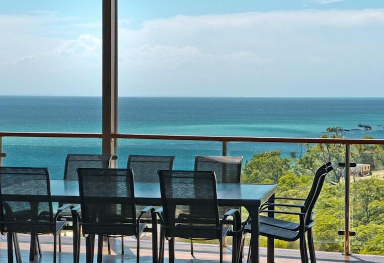 Dolce Villa, Moreton Island, Ferienhaus, 5Schlafzimmer, Balkon