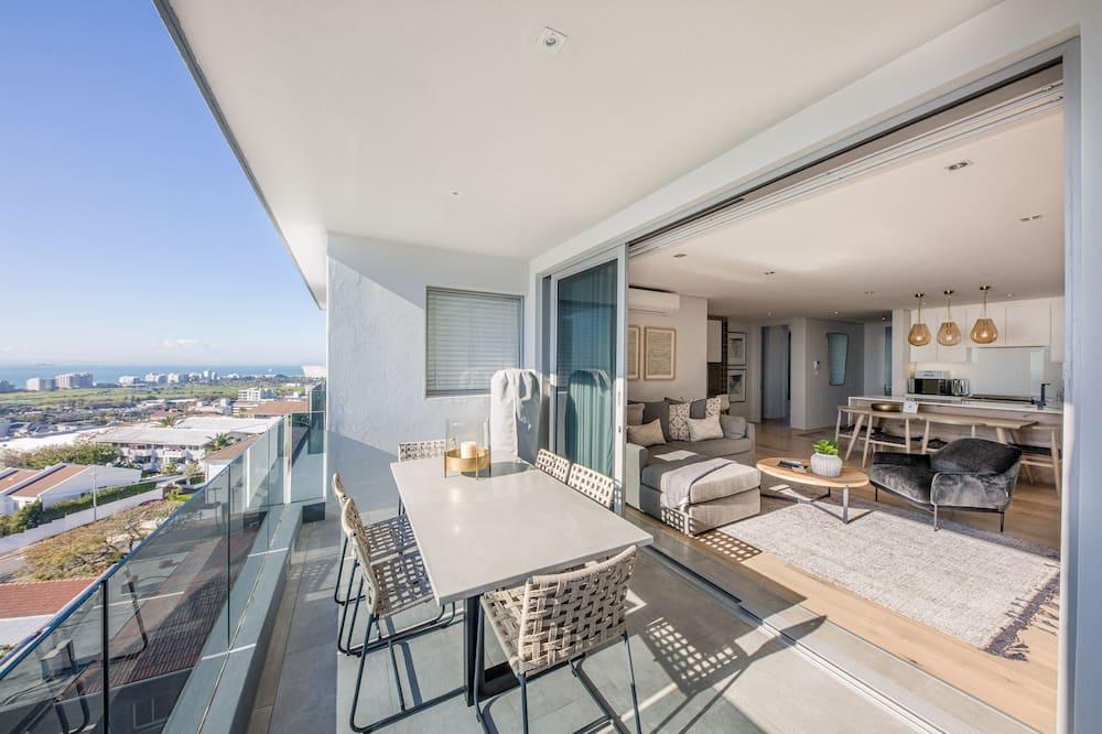 Penthouse de lujo, 2 habitaciones, vista al mar - Balcón