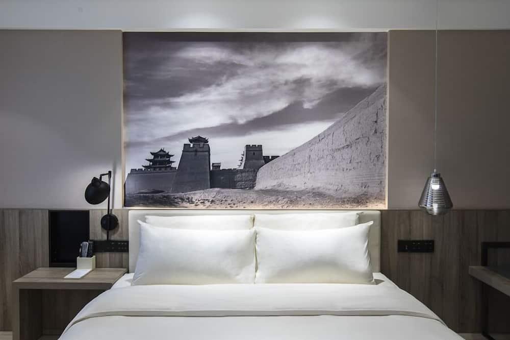Улучшенный одноместный номер, 1 двуспальная кровать «Квин-сайз» - Номер
