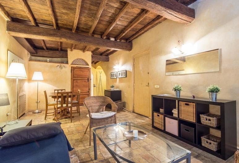 RSH 花朵坎波優雅公寓酒店, Rome, 公寓 (2 Bedrooms), 客廳