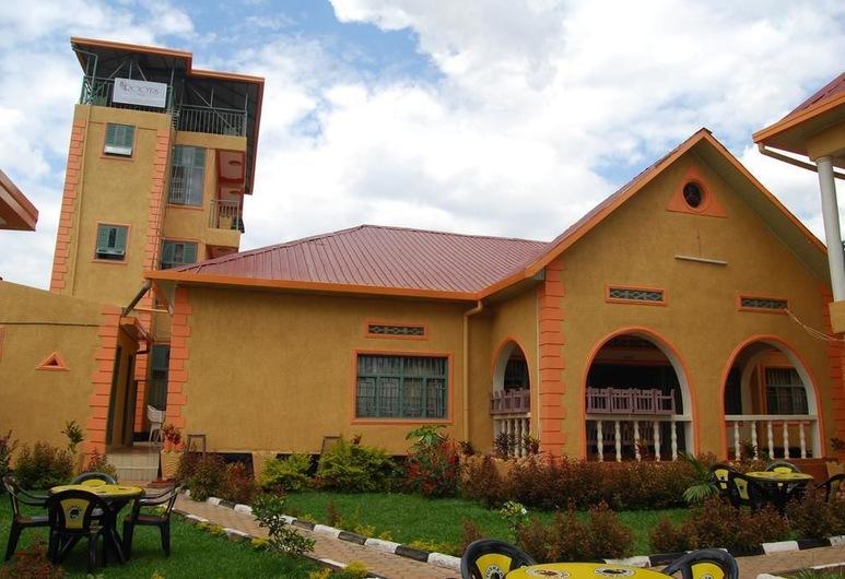 Roots Inn, Kigali, Mặt tiền khách sạn