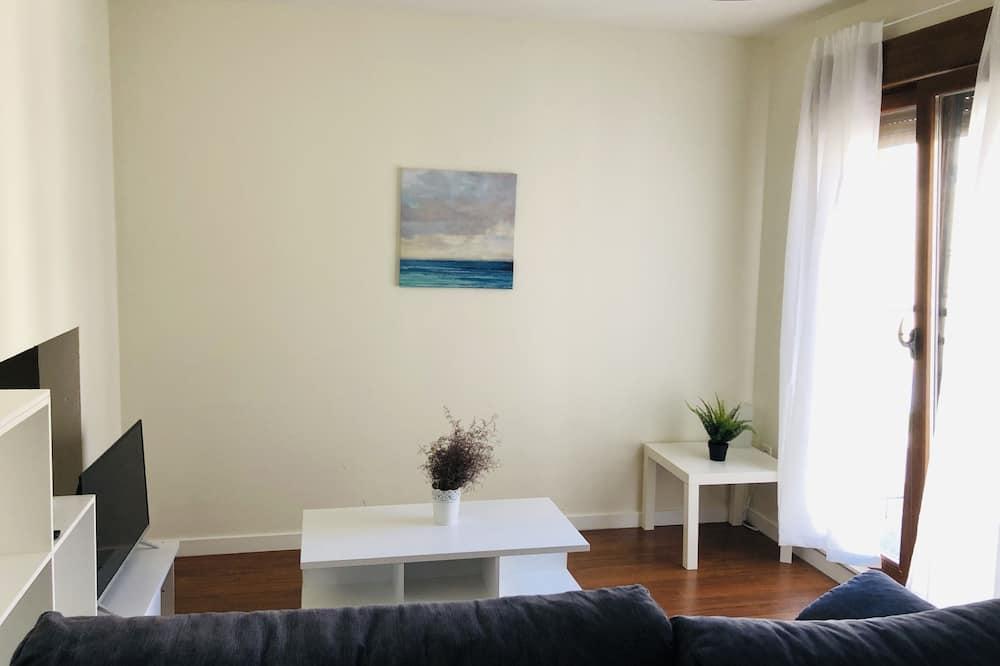 Apartamento Comfort, Acessível, Casa de Banho Privativa - Sala de Estar