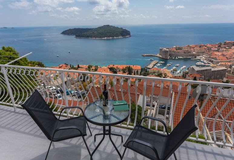 Apartment Sea to Sky Dubrovnik, Dubrovnik, Apartamento, Vista para o mar, Varanda