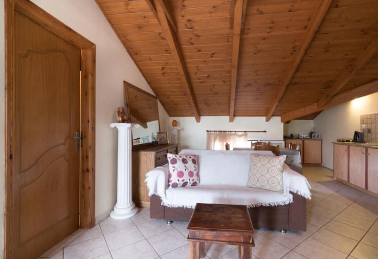 Albero Pool Apartments, Ζάκυνθος, Διαμέρισμα, 2 Υπνοδωμάτια (II), Περιοχή καθιστικού