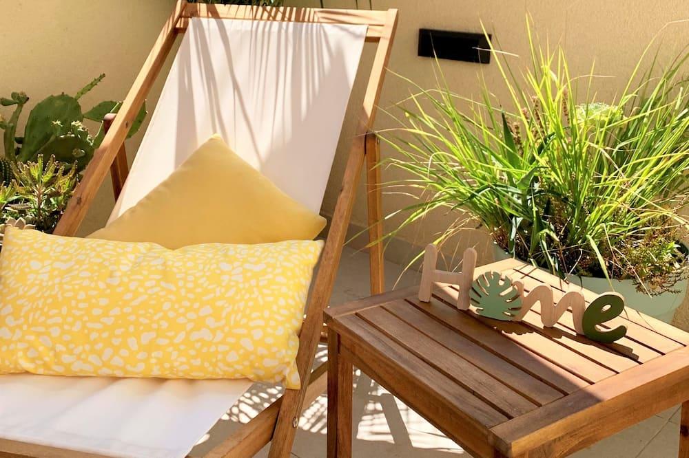 Дизайнерські апартаменти, тераса - Тераса/внутрішній дворик