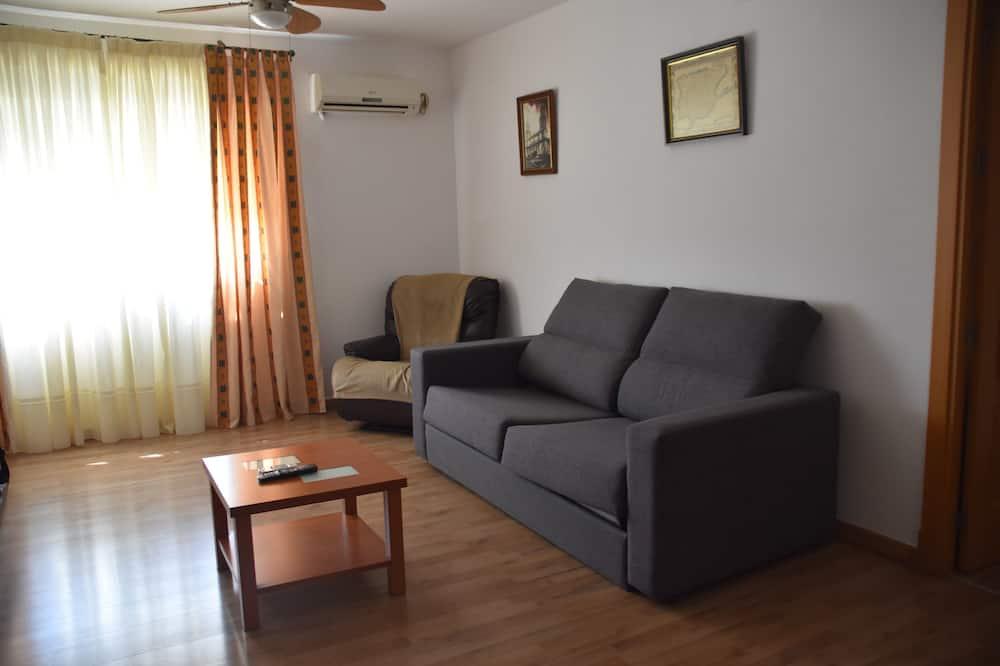 Apartmán, 3 spálne - Obývacie priestory