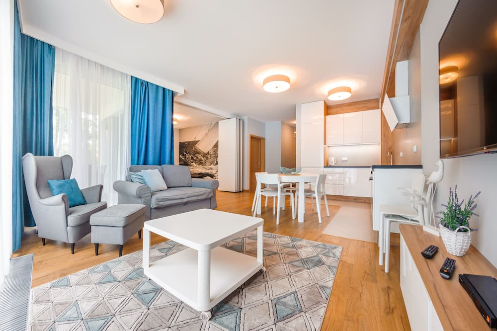 Apartment (5 – Jelitkowska 77) - Bilik Rehat