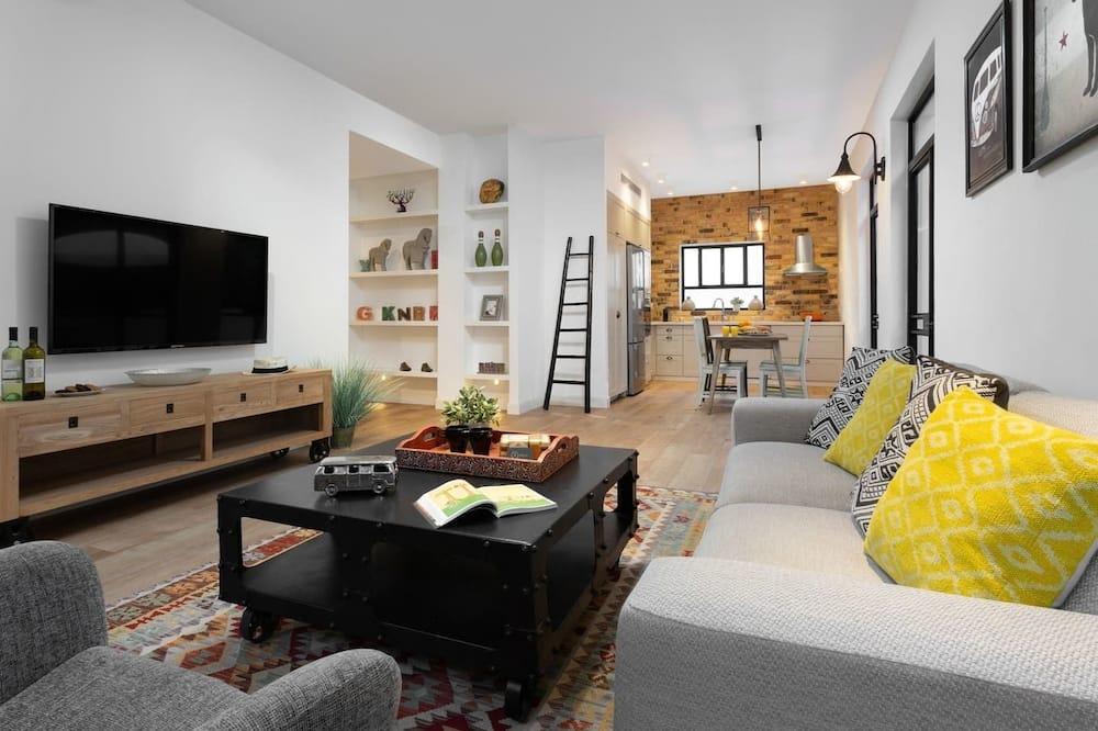 舒适公寓 - 起居室
