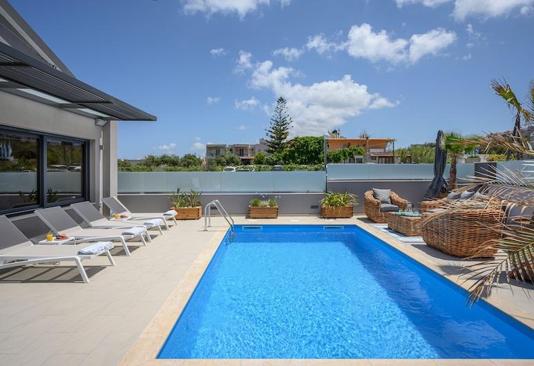 Sunray Beach Life Villa, Χανιά, Βίλα, 2 Υπνοδωμάτια, Ιδιωτική Πισίνα, Ιδιωτική πισίνα