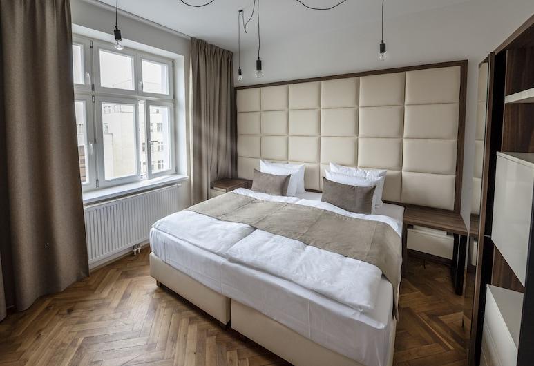 Letna Garden Suites, Praga, Suíte clássica, 1 quarto, Quarto