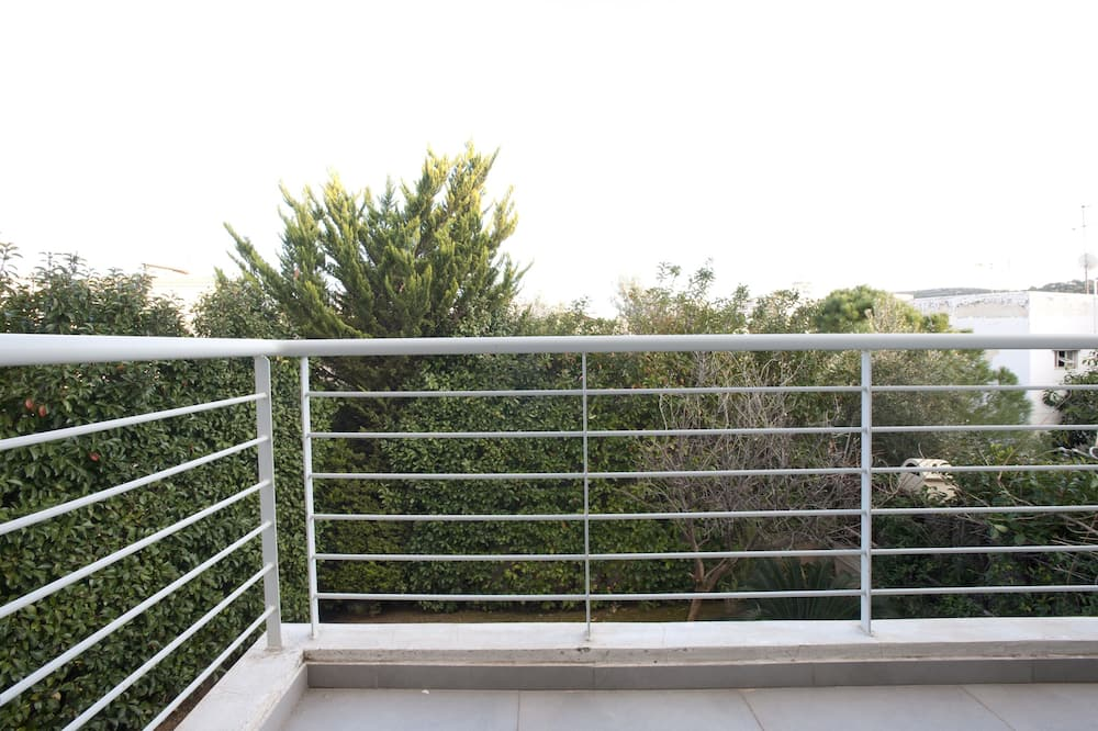 Apartment - Blick vom Balkon