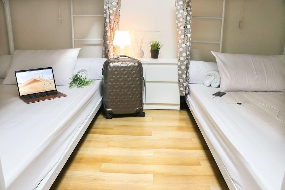 Загальне спальне приміщення, Змішаний дортуар, приватна ванна - Номер