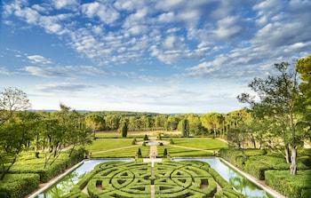 Selline näeb välja Chateau de la Gaude, Aix-en-Provence