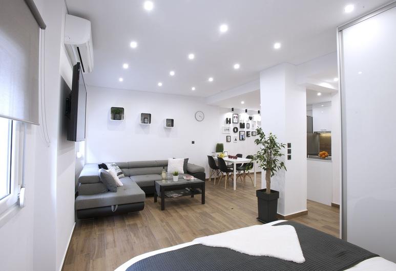 (Α) Koukaki, Modern, Newly Refurbished Apartment, Atenas, Estúdio, Área de estar