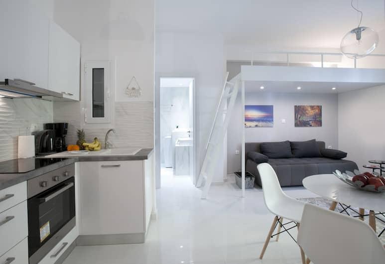 Victoria Square, Cozy and Stylish Apartment, Atėnai, Vidus