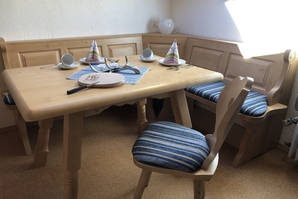 Apartment (Rehkitz - incl. EUR 55 cleaning fee) - In-Room Dining