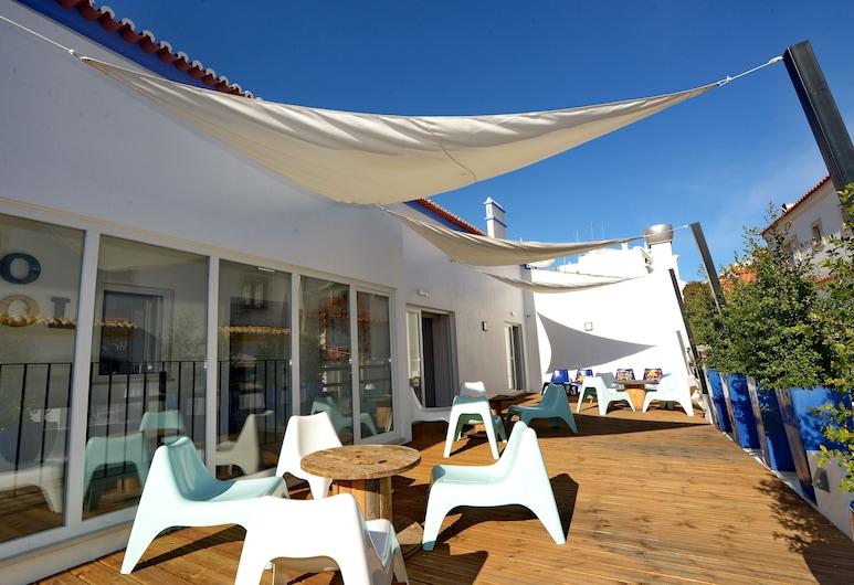 海灘之子青年旅舍, 阿爾布費拉, 露台