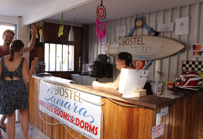 Hostel Samara, Samara, Reception