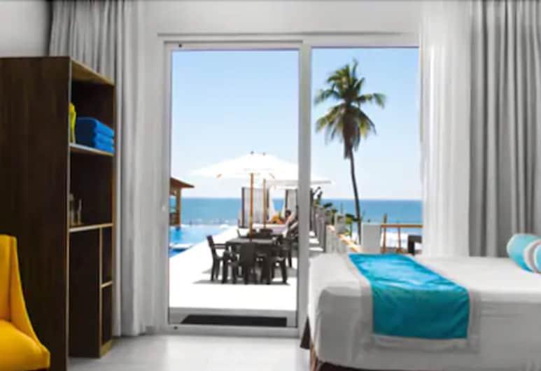 ホテル パロ ベルデ, チルティウパン, プレミアム ダブルルーム キングベッド 1 台 バルコニー オーシャンビュー, 部屋