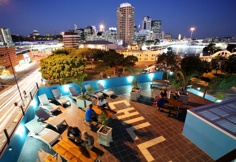 Chill Backpackers, Brisbane, Terrace/Patio