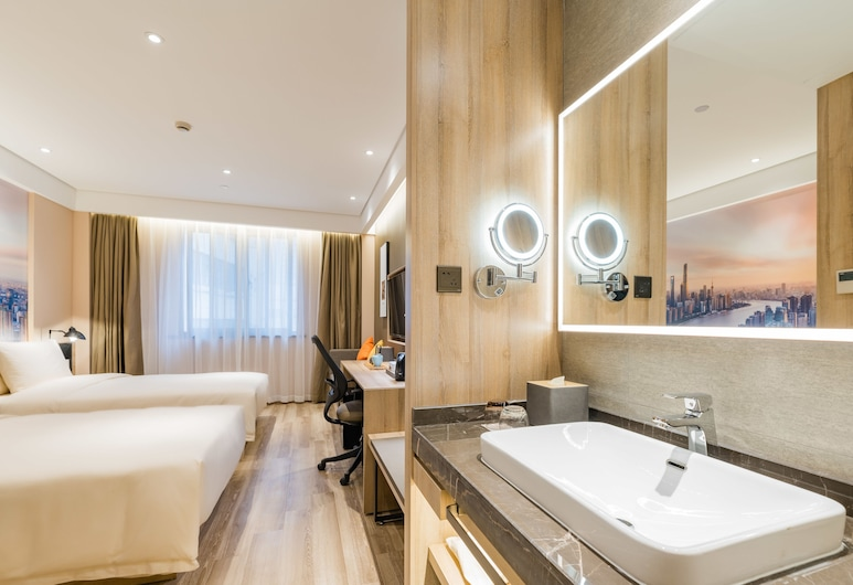 ATOUR HOTEL SHANGHAI SOUTH BUND, Shanghai, Superior Twin Room, Multiple Beds, Guest Room