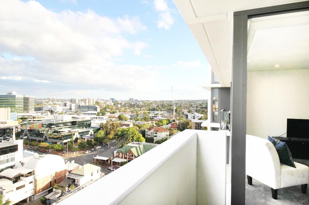 Апартаменты, 1 двуспальная кровать «Квин-сайз» - Балкон