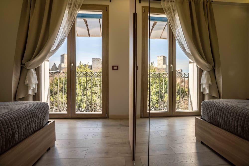 Deluxe-lejlighed - 1 queensize-seng - balkon - bjergudsigt (Euno) - Udvalgt billede
