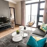 Executive Two Bedroom Apartment - Зона гостиной