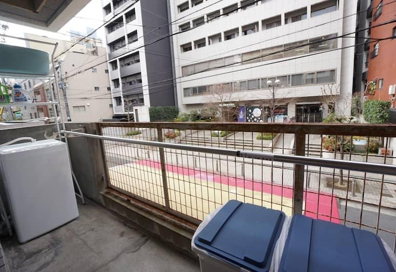 Apartment Takamatsu DOR0073E, 大阪市, アパートメント, バルコニー