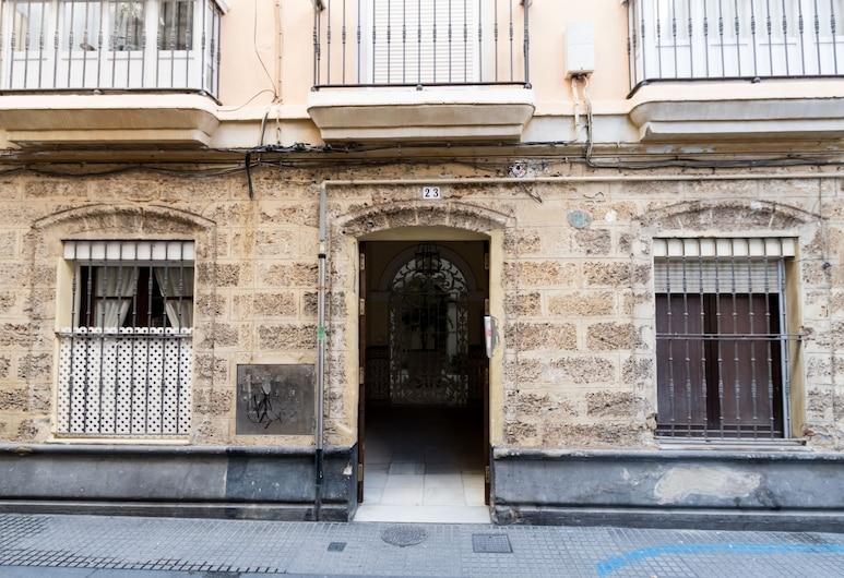 Apartamento El Solarium de Torre, Cadiz, Fassade der Unterkunft