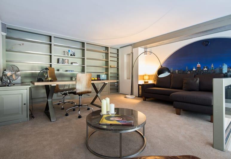 One Palace Gate, London, Apartment, 3Schlafzimmer, Wohnbereich