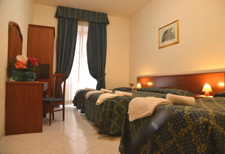 阿莫洛馬線上酒店, 羅馬, 三人房, 共用浴室, 客房