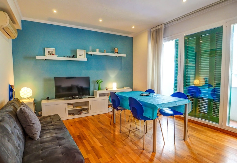 Aire Apartment, Sitges, Apartment, 1 Bedroom, Balcony, Living Area