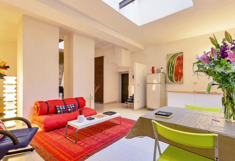 Rome as you feel - Selci Apartment, Rom, Lejlighed - 1 soveværelse, Opholdsområde