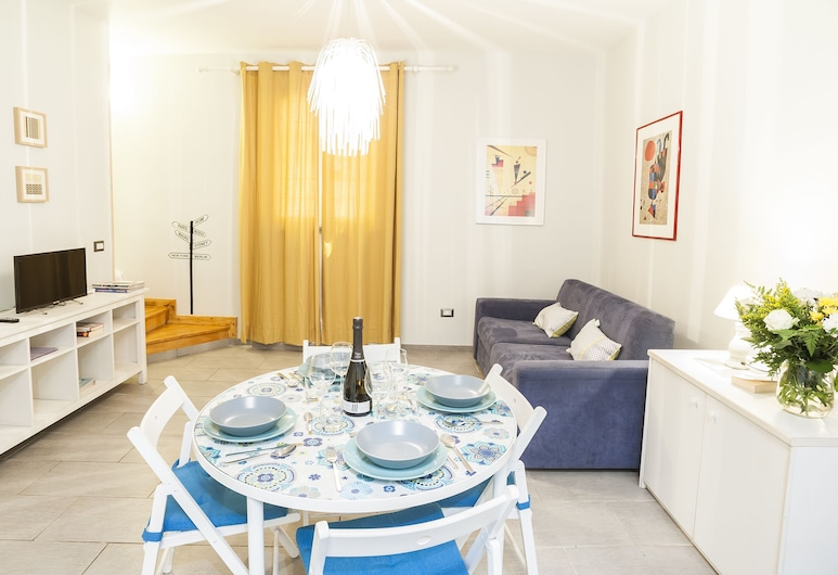 Rome as you feel - Viminale, Rome, Duplex, 1 Bedroom, Living Area