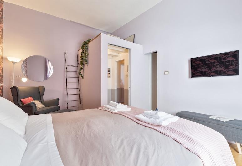 感受羅馬 - 威托里歐酒店, 羅馬, 公寓, 2 張加大雙人床, 客房