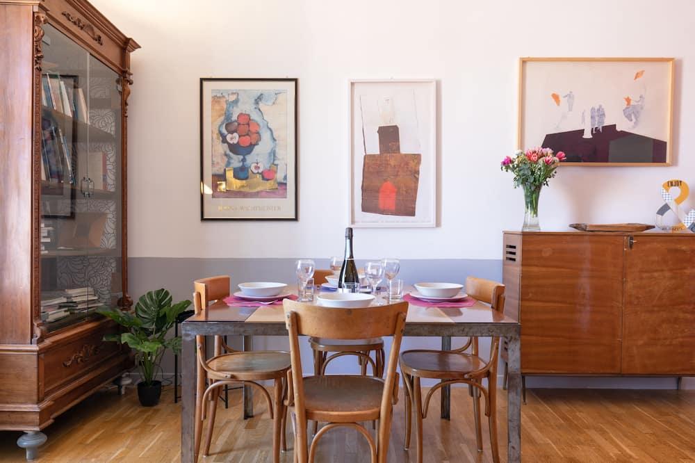 公寓, 2 張加大雙人床 - 客房內用餐