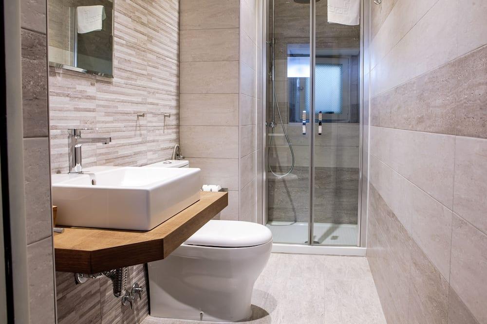 Enkelrum - privat badrum - Badrum
