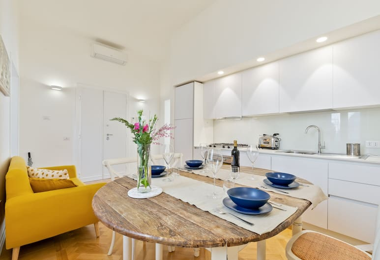 Rome as you feel - Vite Luxury Apartment, Rom, Lejlighed - 3 soveværelser, Opholdsområde