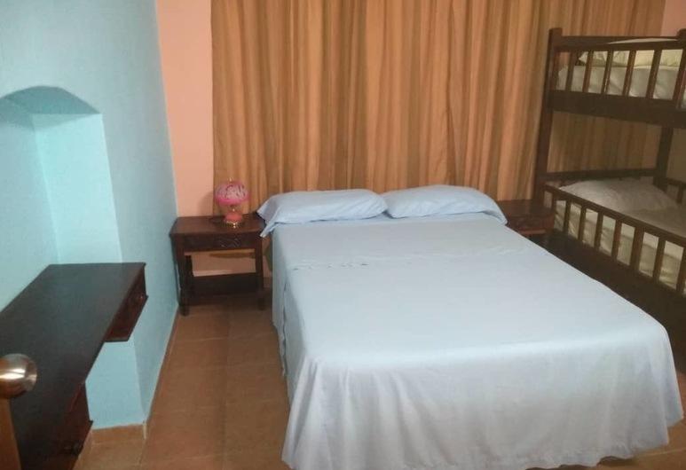Casa Alba, Havana, Comfort-værelse til 4 personer, Værelse