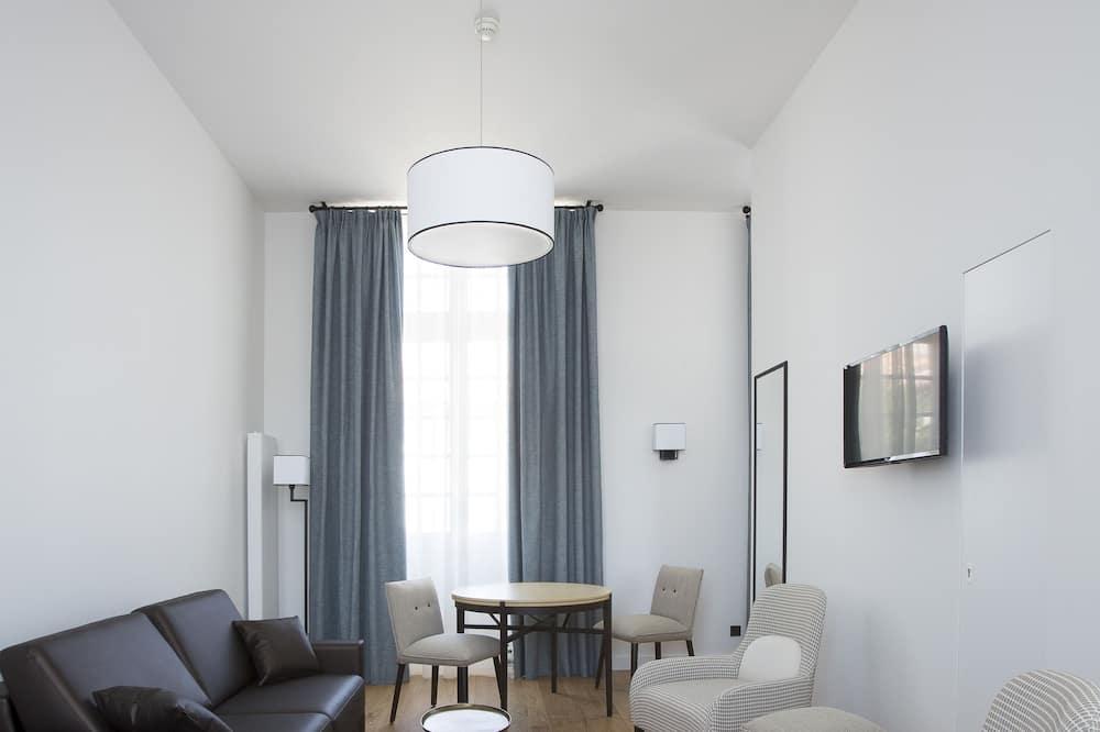 شقة سوبيريور - غرفة نوم واحدة - لغير المدخنين - منظر للفناء - غرفة نزلاء