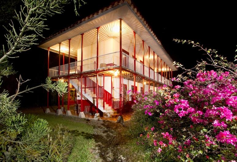 Finca Villa Nora, Quimbaya, Fachada del hotel