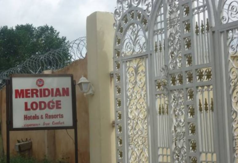 Meridian Lodge hotels & resorts, Benin City, Hoteleingang